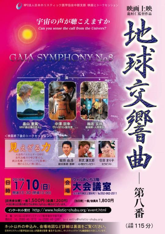 2016映画『地球交響曲第八番』上映会&トークセッション